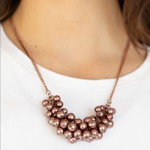 Paparazzi Grandiose Glimmer Copper Necklace